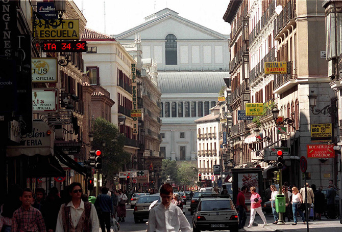 Calle Arenal Madrid