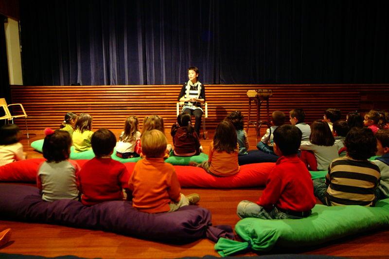 Sesiones de narración oral o Cuentacuentos